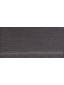 Плитка Paradyz Doblo Nero Stopnica Satyna 29,8 x 59,8