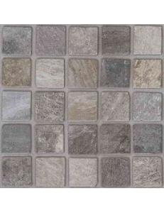 Rockaway Grys A (STRUKTURA, KOSTKA BRUKOWA MOZAIKA) 40 x 40