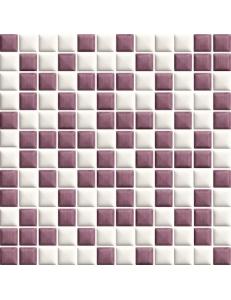 Universo Bianco/Rosa MOZAIKA PRASOWANA MIX (monoporoza) 29,8 x 29,8