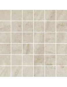 Teakstone Bianco MOZAIKA CIĘTA (kostka 4,8 x 4,8) 29,8 x 29,8