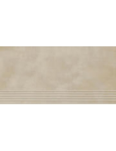 Tecniq Beige stopnica nacinana 29 x 59,8 półpoler
