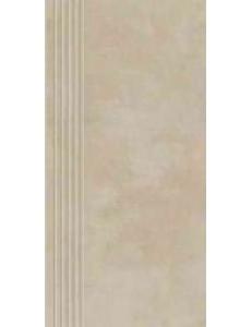 Tecniq Beige stopnica nacinana 29 x 59,8