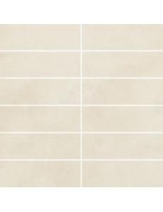 Tecniq Bianco mozaika cięta (kostka 048x148) 29,8 x 29,8 półpoler