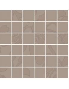 Tessita Mocca 29,8 x 29,8 MOZAIKA (kostka 4,8 x 4,8)