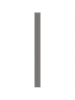 Плитка Uniwersalna Listwa Szklana Grafit 2,3 x 75