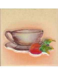 Vanilla Beige Filiżanka INSERTO gładkie 10 x 10