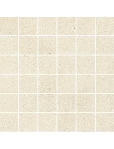 Duroteq Bianco MOZAIKA CIĘTA SATYNA  29,8 x 29,8 kostka 48 x 48