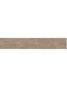 Керамический гранит 20x119,5 Шервуд коричневый обрезной
