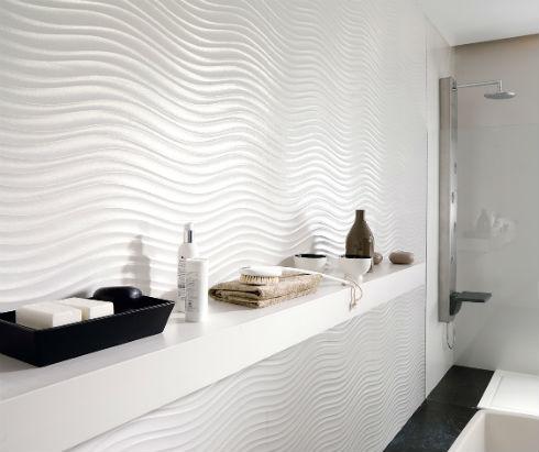 рифленая плитка для ванной